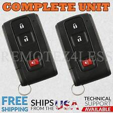 2 For 2004 2005 2006 2007 2008 2009 Toyota Prius Keyless Remote Car Key Fob