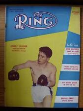 Sep-1954 l'anello Boxe Magazine: (leggera piega, scalfitture, piega)