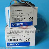 Omron E2E-CR8B1 E2ECR8B1 Proximity Switch New in Box NIB Free Ship