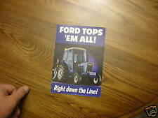 Ford  tractor  Dealer Post card brochure