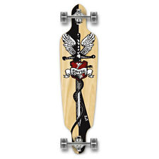 Yocaher Punked Drop Through Smite Longboard Complete