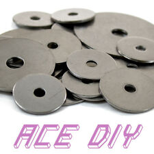 Stainless Steel Mudguard Washers | Penny Repair Flat Guard Washer M5 M6 M8 M10
