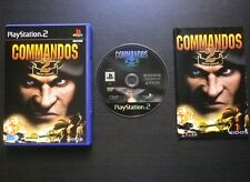 COMMANDOS 2 MEN OF COURAGE : JEU Sony PLAYSTATION 2 PS2 (Eidos COMPLET suivi)