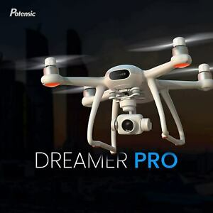 Potensic Dreamer Pro Drone 4K HD Camera FPV GPS 3Axis Gimbal Quadcopter