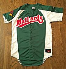 Vintage Madison Mallards Baseball Jersey Rawlings Size 40 Sewn Minor Leagues