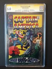 Stan lee signed captain america #101 Magazine CGC Signature 5.0 Marvel Comics
