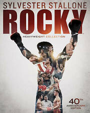 Rocky: Heavyweight Collection Blu Ray 6 Film Set New Free Shipping