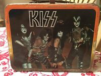 Original 1977 Kiss Lunchbox