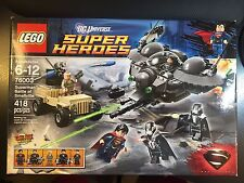 LEGO DC SuperHeroes Superman Battle of Smallville New In Box Sealed MISB (76003)