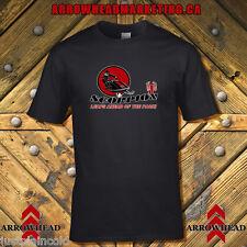 Scorpion snowmobile t-shirt with vintage style logo black
