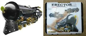Erector Special Edition 8 different models Train rocket ship submarine tractor