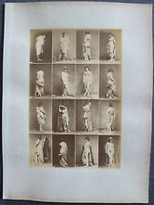 Louis IGOUT Nus Académiques Calavas circa 1875 tirage albuminé 16 Femmes #5