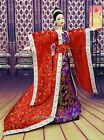 Red Gown China Japan Chinese Dress Outfit Barbie Silkstone Fashion Royalty Asia