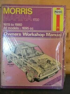 526 Haynes Manual Morris Marina 1700 1695cc All Models 1978-1980
