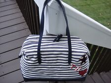 New With Tag Tommy Hilfiger Carson  Canvas Duffle BAG.100%AUTHENTIC