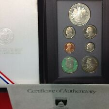 1989-S Proof Prestige Set 7 Coin w/Box and Cert