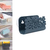 Dish Cloths Rack Suction Cup Sponge Holder Clip Rag Kitchen Tool Storage Rack NE