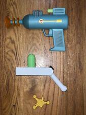 """Rick and Morty"" Portal Gun + Laser Gun + Badge"