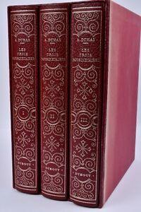 Les Trois Mousquetaires 3 volumes Alexandre Dumas Albert Dubout Sauret 1968