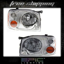 Fits Nissan Frontier 2001-04 XE Pickup Headlights Headlamps Pair Left Right Set