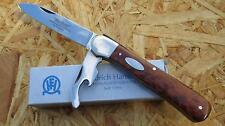 Hartkopf Federdrücker Taschenmesser, Messer, 1.4034, Amouretteschalen, 345110