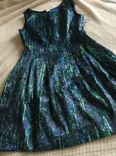 ZARA SEQUIN PRINT TULIP DRESS BNWT Medium Cost £69.99