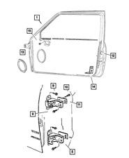 Genuine Mopar Door Hinge Upper Left 55075957AC