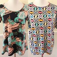 LuLaRoe Disney Minnie Mouse Classic T-Shirt Irma Lot Tops Xxs Small S Tunic