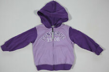 NEW All Star Converse Kids Girls Hooded Sweatshirt Sweatshirt Jacket gr.9-12m 18