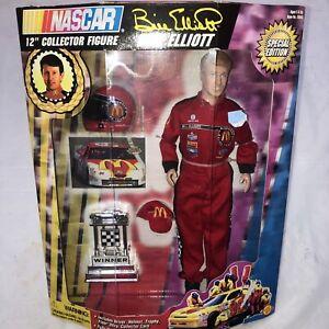 "NASCAR 12"" Collector Figure Bill Elliott Special Edition 1997 McDonalds Racing"