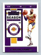 2019-20 PANINI CONTENDERS LEBRON JAMES Basketball Card # 70 Los Angeles Lakers