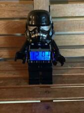 "LEGO STAR WARS ALARM CLOCK SHADOW TROOPER LARGE 9"" FIGURE by CLIC TIME"