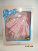 """Doll Clothes Vintage 1988 Ginny Vogue Doll Soft Body Only """"Garden Party"""""""