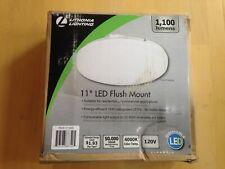 """Lithonia Lighting FMLRL 11"""" LED Flush Mount Light 1100 Lumens (4000k)"""