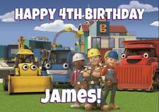 BOB  THE BUILDER PERSONALISED BIRTHDAY CARD - ANY NAME AGE RELATION
