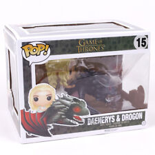 GAME OF THRONES - DAENERYS TARGARYEN & DROGON FIGURE - FUNKO POP! #15