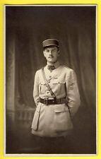 cpa Post Card Carte Photo MILITAIRE SOLDAT COLONEL en Uniforme du 105e Régiment