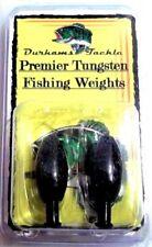 Durhams Tackle- Premier Tungsten Punch Weight 1/2oz black (2 pack)