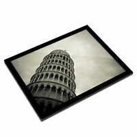 A3 Glass Frame  - Leaning tower of Pisa Italy  #45530