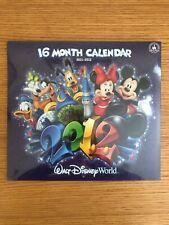Disney Calendar Walt Disney World - 2012 - !6 Month Calendar Nip