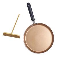 8 Inch Nonstick Saucepan Frying Pan Pancake Omlette Pan Cookware Gold