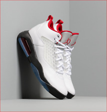 🔥100% Auth Jordan Maxin 200 Basketball Shoe in White/Gym Red/Black Colorway!🔥