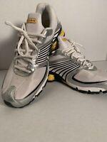 Nike Shox Turbo+ 8 LAF LIVESTRONG - 346240 101 - White / Black - Maize  - Sz: 13