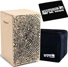 Schlagwerk CP 107 X-One Fingerprint Cajon + KEEPDRUM Gig Bag + Pad CP-01