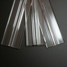 Basso profilo flex cardini, cerniere flessibili, plexiglass, trasparenti 50mm - 500mm