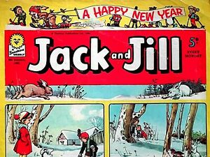 JACK & JILL - NEW YEAR !! 6th JANUARY 1962 - RARE 60th BIRTHDAY GIFT !!....beano