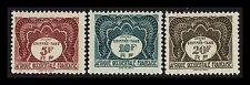 Segnatasse 1947 - Africa Occidentale Francese, serie 10 valori Nuovo
