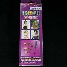 High On Hair Light Brown Hair Inserts 4 Pk Pro Med Lil Tail Comb New