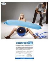 "Jeff Koons ""ArtPop"" Cover Artist AUTOGRAPH Signed Lady Gaga 8x10 Photo ACOA"