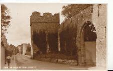 Wales Postcard - The Walls of Tenby - Pembrokeshire - Ref ZZ5331
